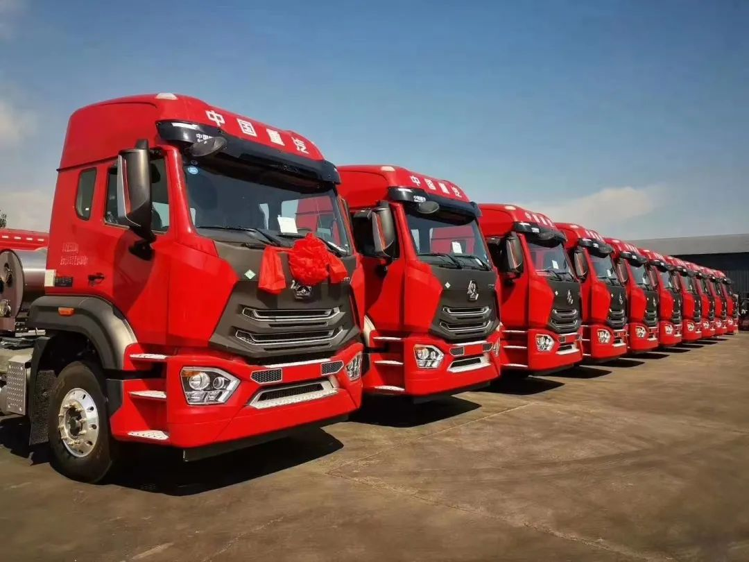 SINOTRUK HOHAN1 4×2 Truck Tractor Prime Mover, 340HP EURO IV