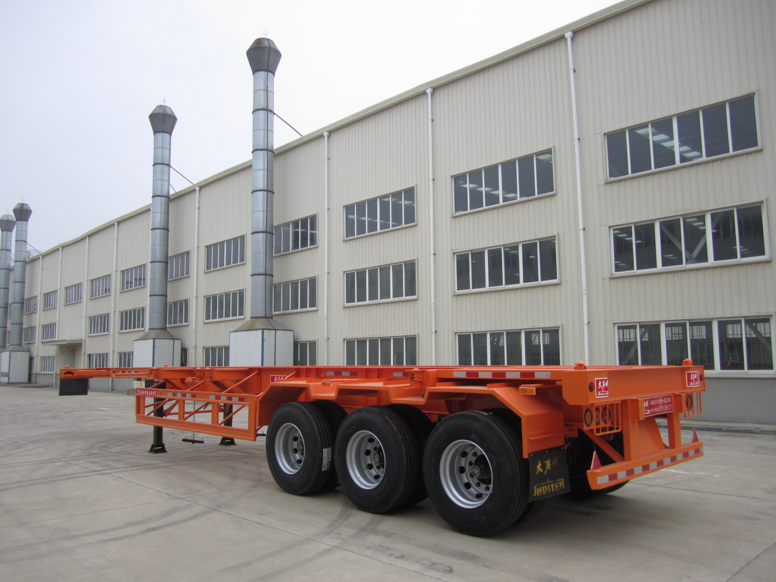 20ft and 40ft Container Hauling Semi Trailer with 8 locks 12 locks