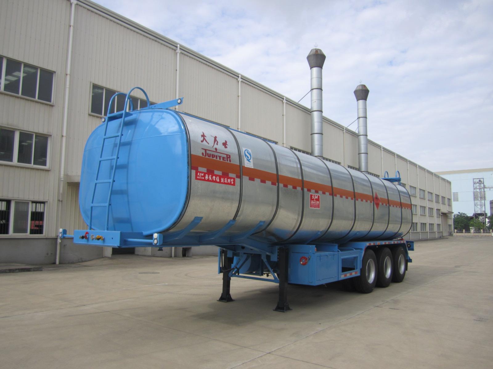 40cbm Tri Axle Bitumen Asphalt Tanker Semi Trailer